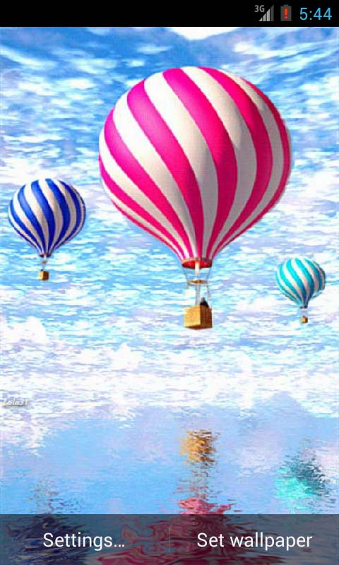air balloons live wallpaper free download for android