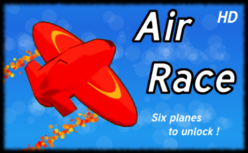 Air Race HD - game with planes screenshot 1
