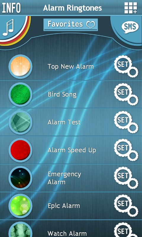 alarm tones for windows phone