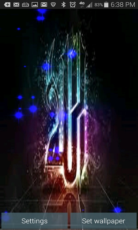 Allah Is King With Glitter Effects Android App Free Apk