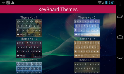 Android Keyboard Themes Free for Android - Download