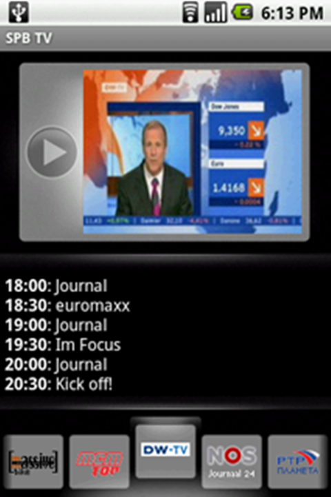 Android Live TV screenshot 2