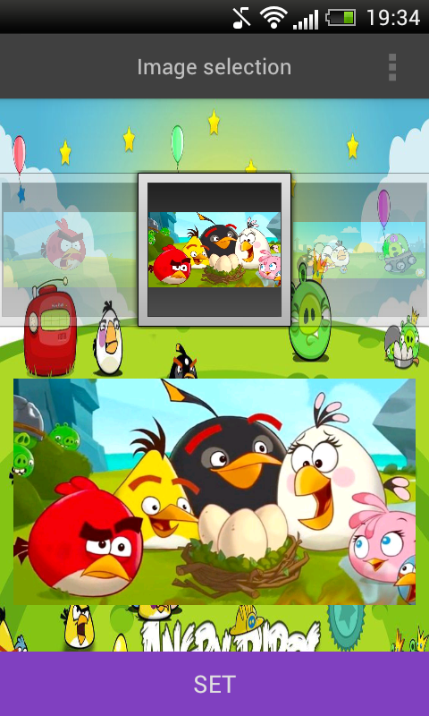 Angry Birds Wallpaper HD screenshot 1