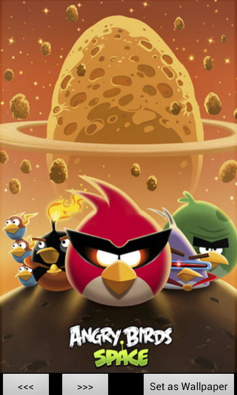 Angry Birds Wallpaper Pack Pro Bildschirmfoto 1