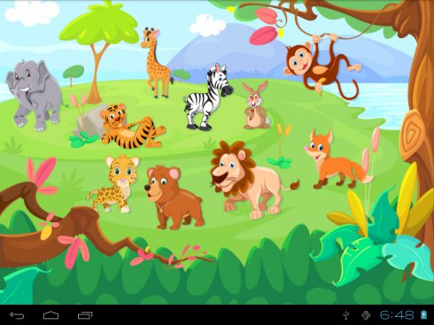 download animal pictionary free