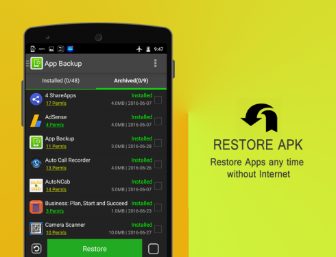 Download App Backup & Restore Pro   Apk | Android Apps ...