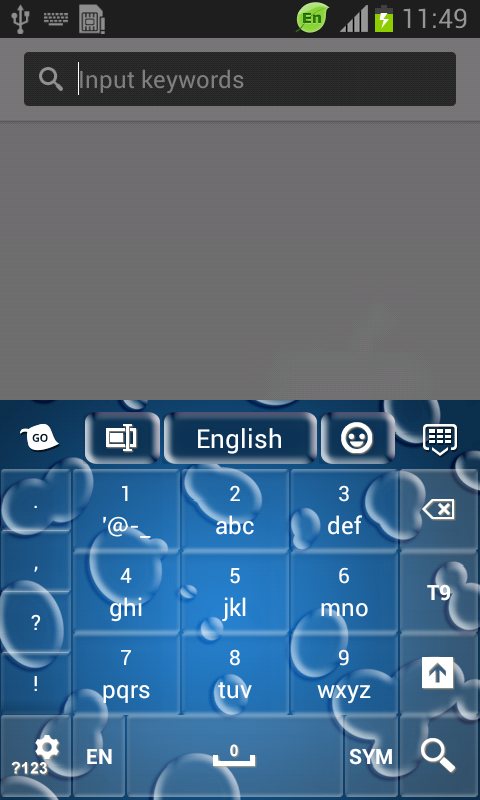 how to clear keyboard cache on android phone