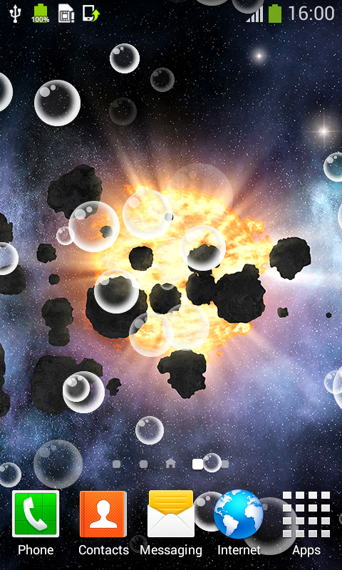 Asteroids Live Wallpapers Best Free App Download Android Freeware