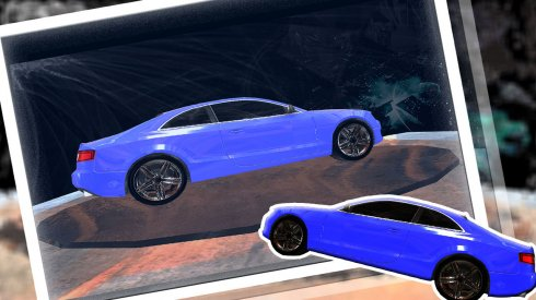Augmented 3d Car Paint screenshot 1