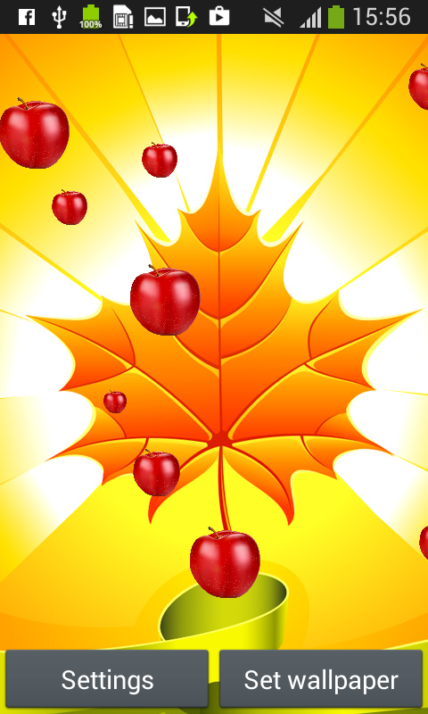 autumn live wallpapers free free apk android app android