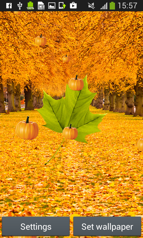 autumn live wallpapers free android app free apk by