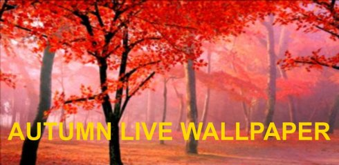 Autumn Live Wallpapers screenshot 1