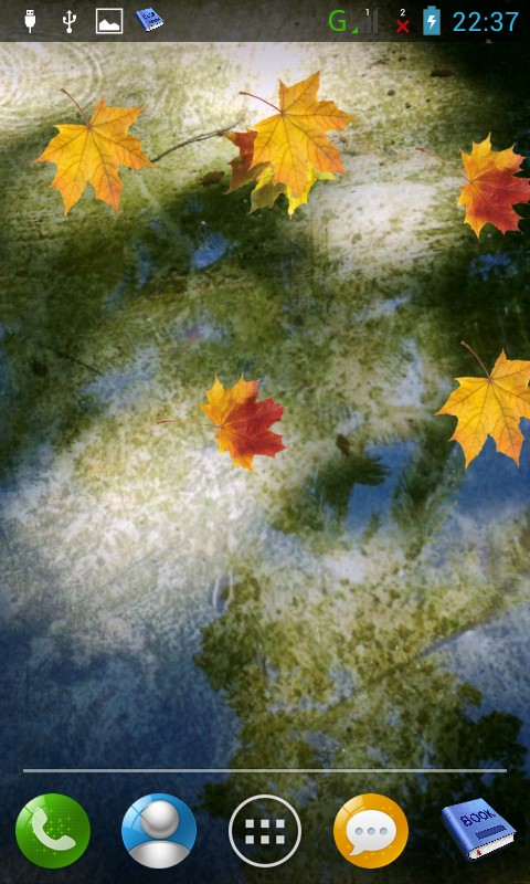 Autumn LWP Free screenshot 2