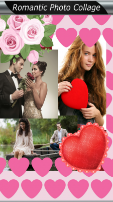Awesome Romantic Photo Collage screenshot 1