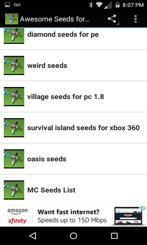Awesome Seeds for Minecraft