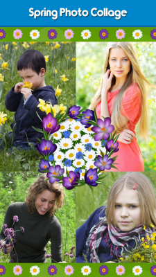 Awesome Spring Photo Collage screenshot 1
