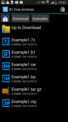 B1 Free Archiver for Android - Download