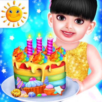 Image of Baby Aadhya Birthday Cake Maker Cooking Game