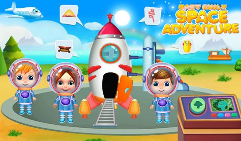 Baby Emily Space Adventure screenshot 1