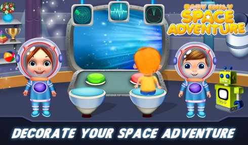 Baby Emily Space Adventure screenshot 2