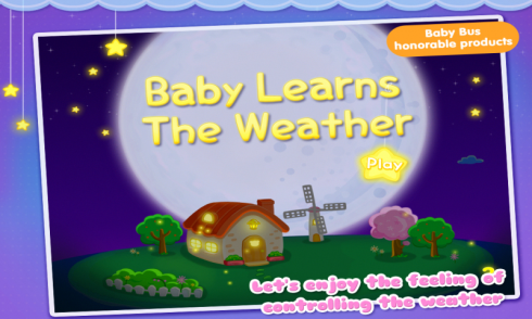 Baby Learns the Weather screenshot 1