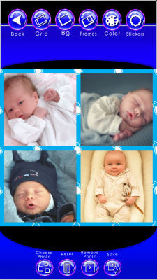 download baby photo collage maker