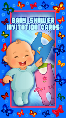 Baby Shower Invitation Cards Free screenshot 1