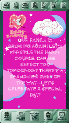 Baby Shower Invitation Cards Free screenshot 2