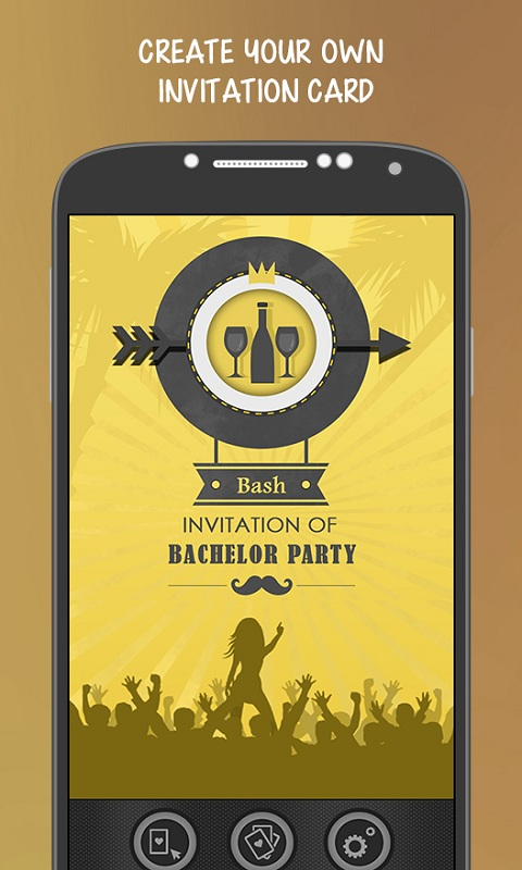 Bachelor Party Invitation free app download Android Freeware – Party Invite App