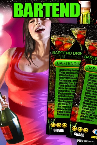 Bartend Drink Mix Party Guide screenshot 1