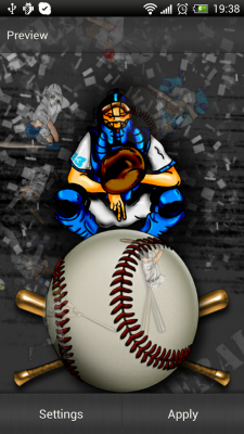 Download Baseball Live Wallpaper