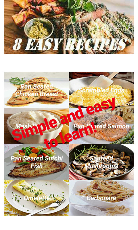 Download Basic Cooking Recipes