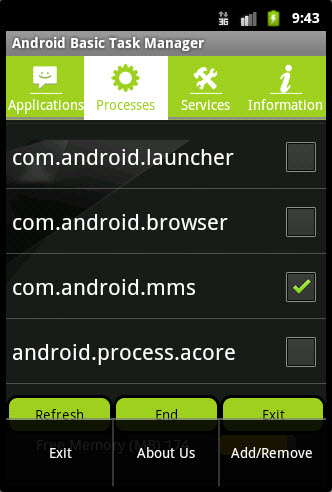 Android Basic Task Manager for Android - Download