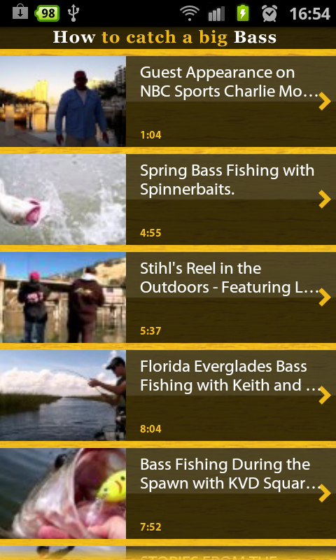 Bass fishing free apk android app android freeware for Bass fishing apps
