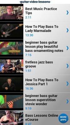 bass guitar lessons android app free apk by beauty linx. Black Bedroom Furniture Sets. Home Design Ideas