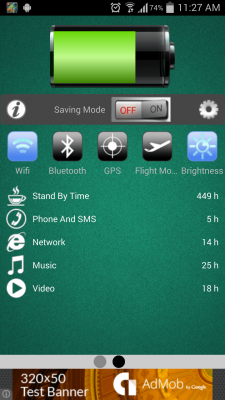 Battery Saver 2016 screenshot 1