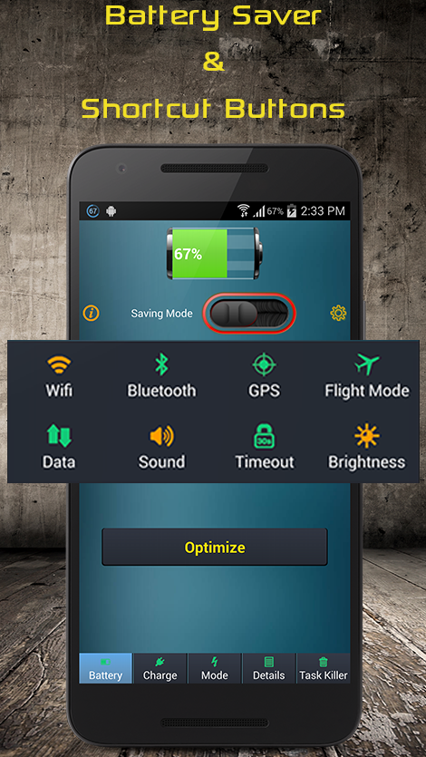Battery Saver Pro screenshot 1