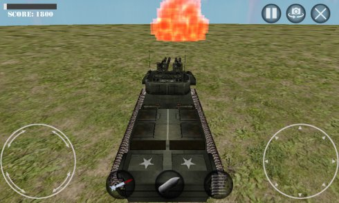 Battle of Tanks 3D War Game screenshot 1