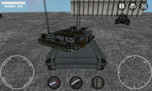 Battle of Tanks 3D War Game screenshot 2