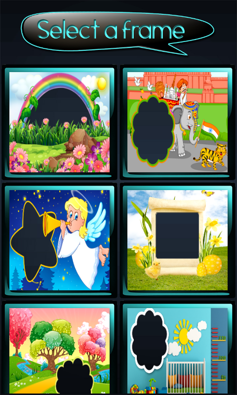 Best Baby Photo Frames Free Android Apps Android Freeware Apks