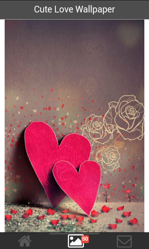 Best cute Love Wallpaper free android app - Android Freeware