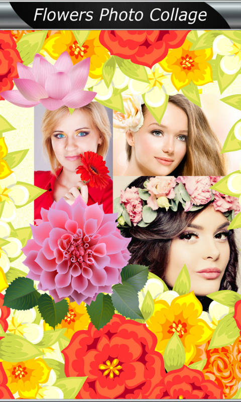Best Flowers Photo Collage screenshot 1