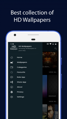 Best HD Wallpapers App screenshot 1