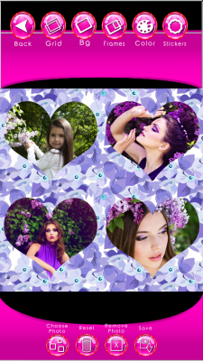 Best Lilac Photo Collage screenshot 2