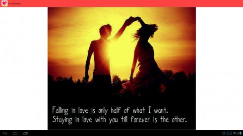 Love Quotes App Brilliant Best Love Quotes Free Android App  Android Freeware