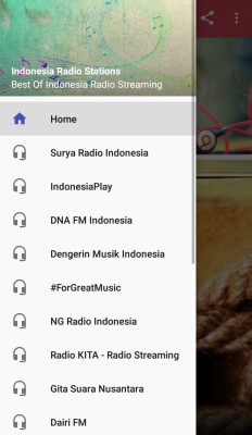 Best Of Indonesian Radio Stations, Full Non Stop Music screenshot 1