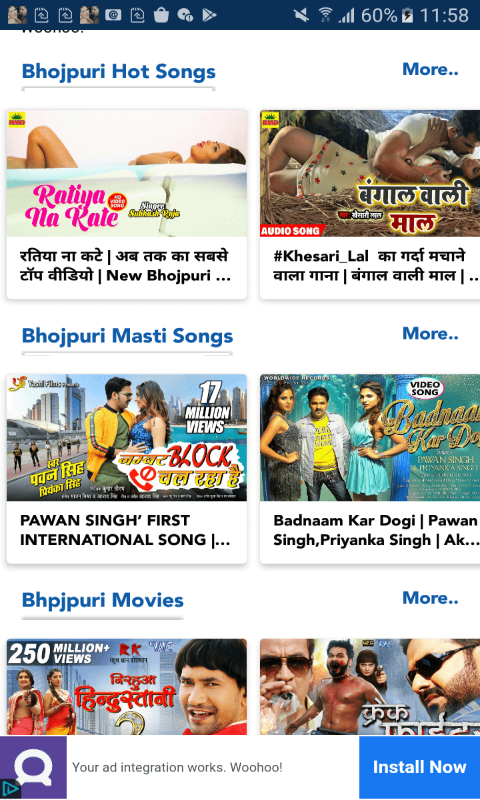 Bhojpuri Video screenshot 2