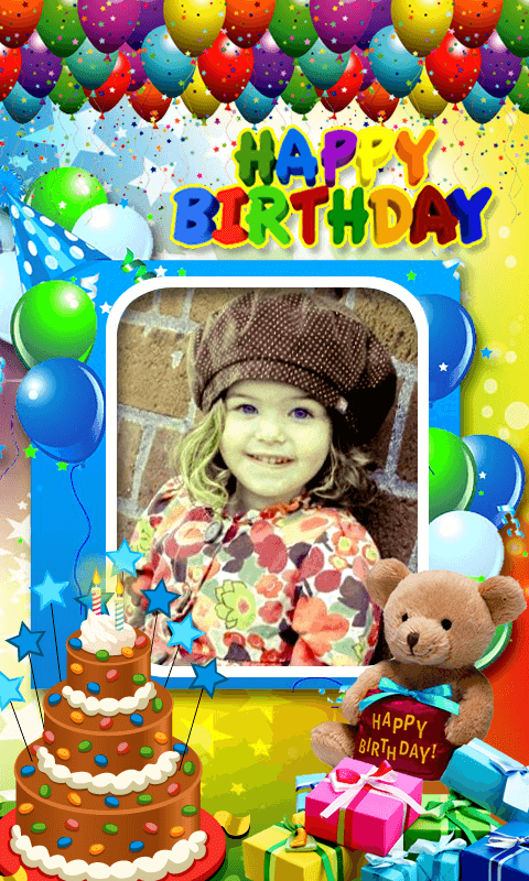 download birthday photo frames