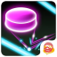 Block Neon Bouncy Ball Game