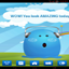 Download Blue Monster GO Theme for Android Phone